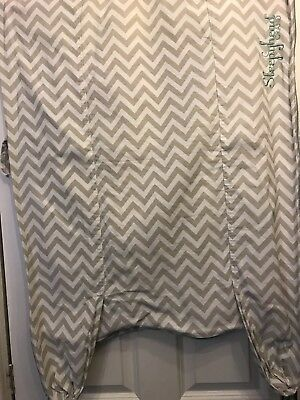Baby Sleepyhead Grand Cover Chevron Lovely Used Condition!!
