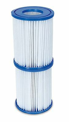 Bestway Flowclear Size II Filter Cartridge - 4.2 x 5.4 Inches for Swimming Pools