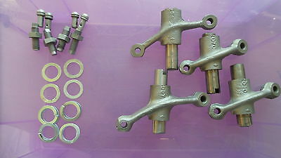 3969 - Set Of Rockers, Shafts & Adjusters + Ball Ends Commando & Late Dominator