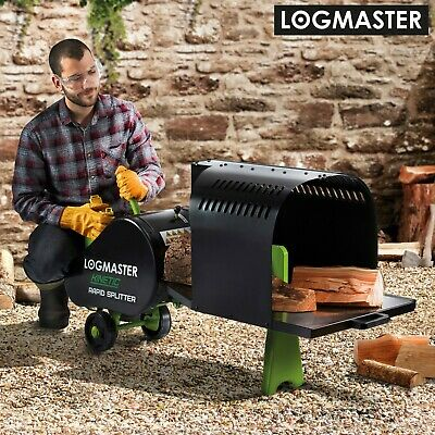 Log Splitter Electric Kinetic Wood 7Ton Auto Return Heavy Duty Timber Cutter New