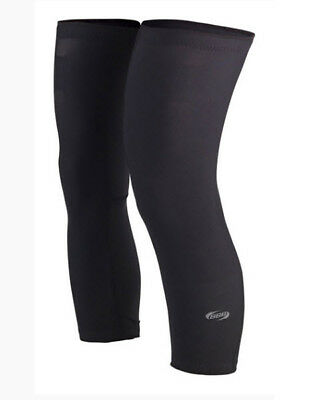 BBB Comfort Knee Knee Warmers BBW-93 - Black - Large