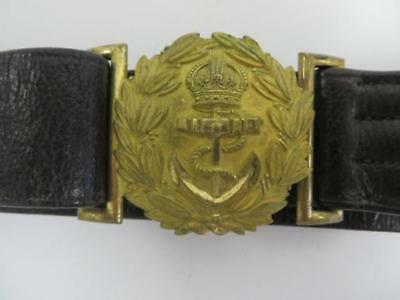 Original Pre Ww 1 Naval Officers Belt