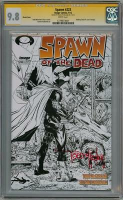 Spawn #223 Sketch Variant Cgc 9.8 Signature Series Signed Todd Mcfarlane Image