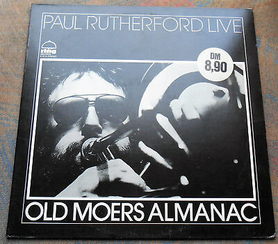 LP PAUL RUTHERFORD LIVE Old Moers Almanac 1st GERMANY, MINT-