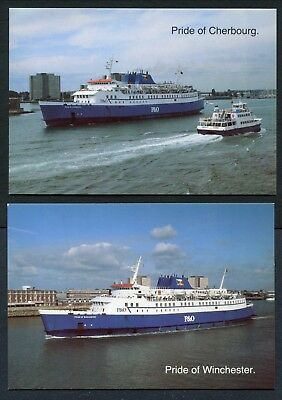 """3 Col Pc - P&o Ferries """"price Of/le Havre/cherbourg/winchester"""""""