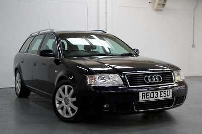 2003 Audi A6 Avant 2.5 Tdi Sport Manual Blue Leather Sold For Spares Or Repair