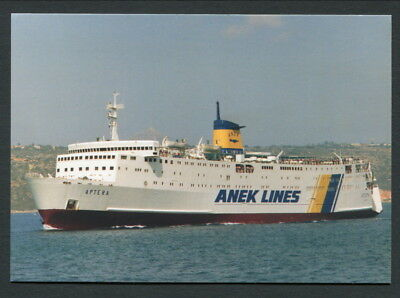 """Col Pc """"aptera"""" B1973 For Anek Lines Greece"""