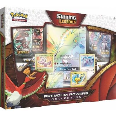 Pokemon TCG Shining Legends Premium Powers Collection Brand New