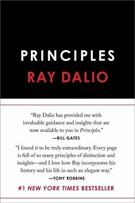 Principles Life and Work by Ray Dalio 9781501124020 (Hardback, 2017)