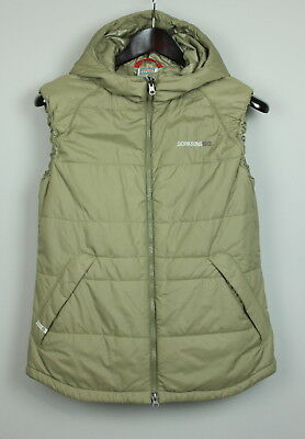 DIDRIKSONS THERMAL SYSTEM Women's Polyamide Hooded Waistcoat [SZ 38 or ~M] VGC!
