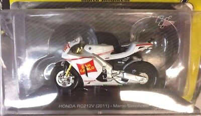 Moto Marco Simoncelli  Honda RC212 V  2010   1/18  Diecast Model New & box
