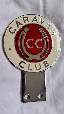 "Vintage Car Badge ""the Caravan Club"""