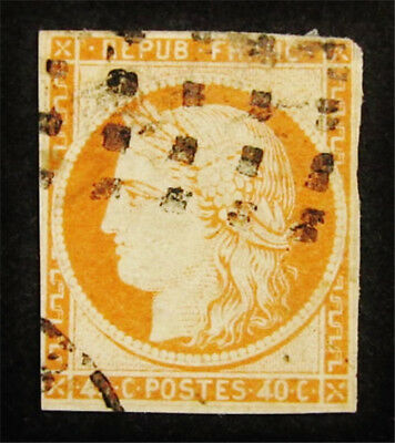 nystamps France Stamp # 7 Used $450