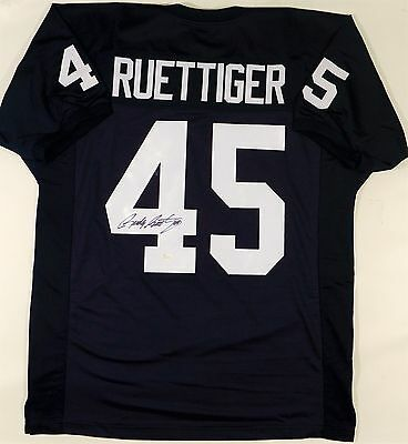 Rudy Ruettiger Signed/autographed Custom Notre Dame Jersey Jsa W Authenticated