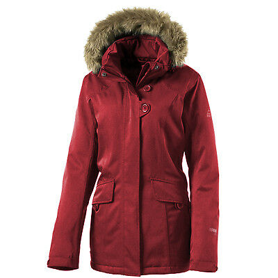 McKinley Mount Allen Winterjacke Damen Jacke Red Wine