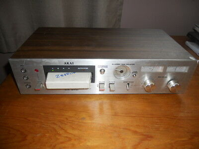 Akia CR-83D 8-Track Recorder And Player  New Belts