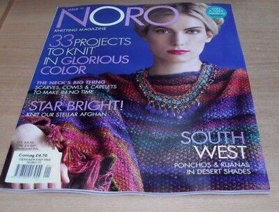 Designer Knitting magazine NORO #11 FALL/WINTER 2017: 33 Projects & more