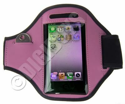 Pink Adjustable ARMBAND for iPhone 5S/SE Gym Case Pouch Jogging Running UK