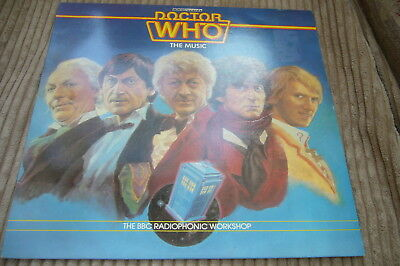 Doctor Who The Music Bbc Radiophonic Workshop Year 1983 Near Mint Reh 462 Stereo