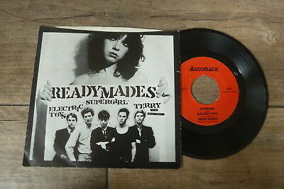 Readymades - Terry Is A Space Cadet + 2 1977 USA EP AUTOMATIC PUNK/KBD/POWER POP