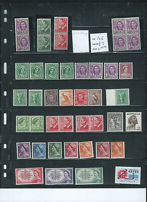 Australia 1937-63 Mint Selection