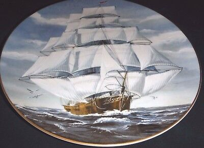 The Rosenthal Group (Danbury Mint) - The Flying Cloud - Vintage 8 1/2""