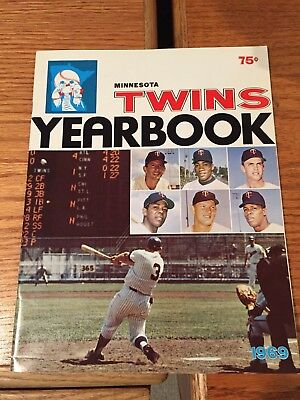 1969 Minnesota Twins yearbook