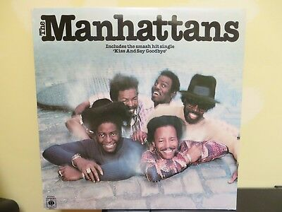 THE MANHATTANS ~ MANHATTANS CBS 81513 Kiss And Say Goodbye, Hurt, Reasons EX