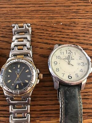 Lot Of 8 Mens Watches