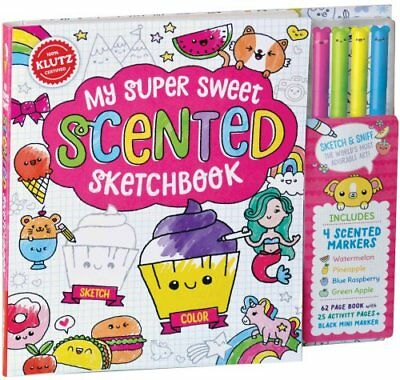 My Super Sweet Scented Sketchbook by Editors of Klutz (Mixed media product,...