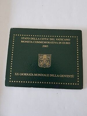 Rare 2 Euro Commemorative Vatican 2005 Voir Photo