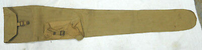 Original British Lee Enfield Rifle Carrying Bag-1942 Dated w/ Broad Arrow