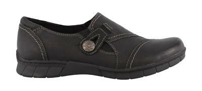 Earth Origins Norah  On Shoes Leather Womens Casual Shoes Low Heel
