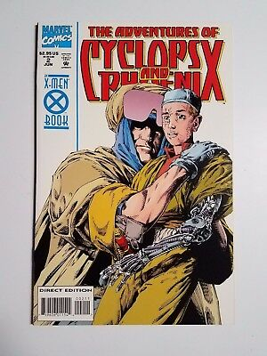 The Adventures of Cyclops and Phoenix #2 of 4 NM+ (Marvel,1994) Bolt and Stryfe!