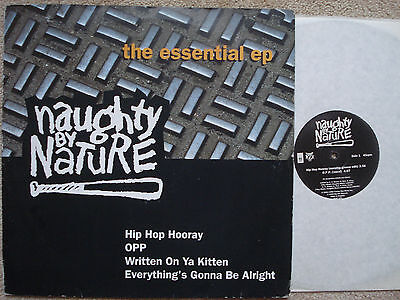 """Naughty By Nature EP MINT O.P.P. Hip Hop Hooray Everything's Gonna Be VINYL 12"""""""