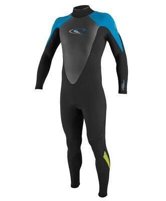 O'NEILL Youth 3.2 HAMMER BZ Wetsuit - Blk/Sky/Lime - Size 12 - NWT