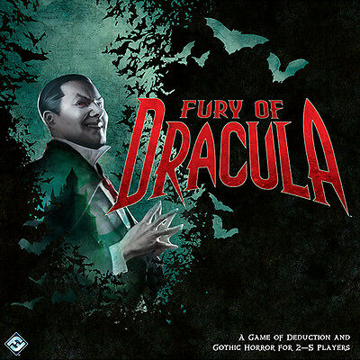 Fury of Dracula (3rd Edition) Brand New Out of Print Board Game