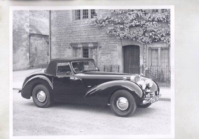 1946 ? Triumph 1800 Roadster ORIGINAL Factory Photograph wy6555