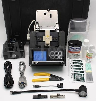 Siecor Corning X75 MiniMass C752 SM MM Ribbon Fiber Fusion Splicer w/ Cleaver