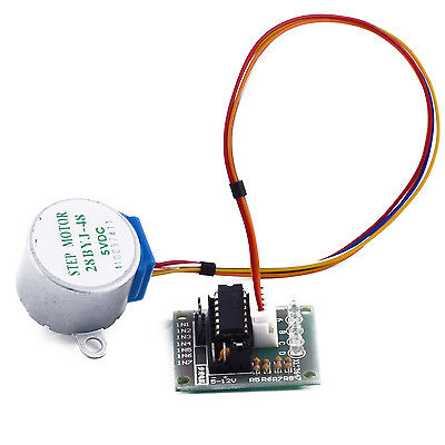 5V 4-Phase Geared Stepper Motor with ULN2003A Driver Board 28BYJ-48 Arduino