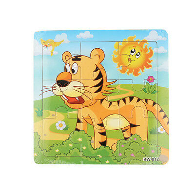 Wooden Tiger Jigsaw Toys For Kids Education And Learning Puzzles Toys New