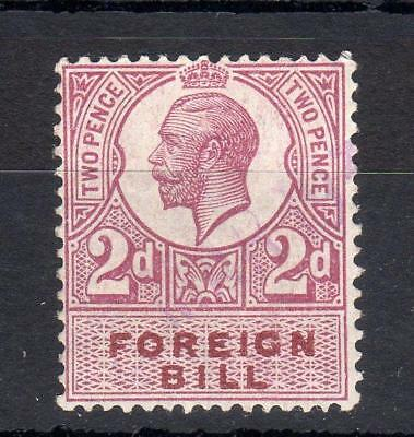 GEORGE V 2d FOREIGN BILL