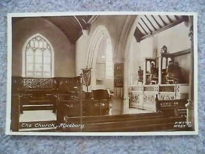 The Church Musbury Devon Postcard