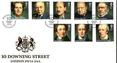 Buckingham Prime Ministers Fdc 16-10-14 Westminster London Sw1A 2Aa Shs F14