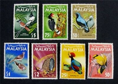 nystamps British Malaysia Stamp # 20 - 26 Mint OG NH $30