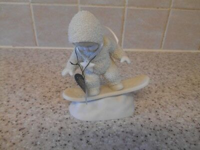 "Snowbabies Ornament ""in The Groove"" Very Good Condition"