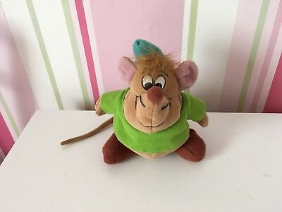 """Disney's Gus Mouse From Cinderella Soft Toy 6"""" Tall"""