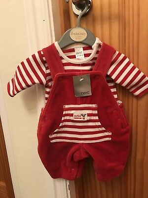 Next Tiny Baby Christmas Outfit BNWT