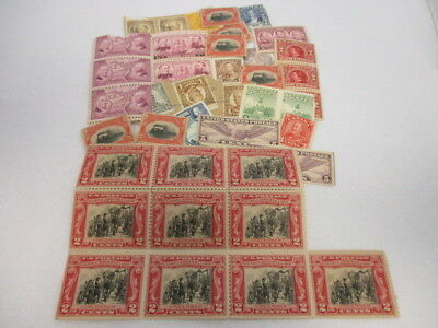 Lot of Over 30 Vintage Stamps From Gimbel Bros Circa 1920-1930's