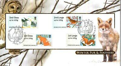 Buckingham Fur & Feathers Post & Go Fdc 16-11-05 Foxley Towcester Shs F14
